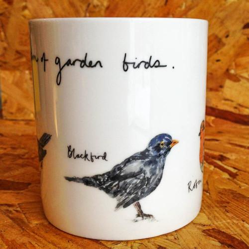 A Selection of Garden Birds Mug Image