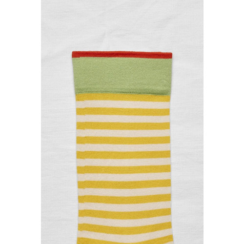 Bonne Maison Mimosa Stripe Socks Image