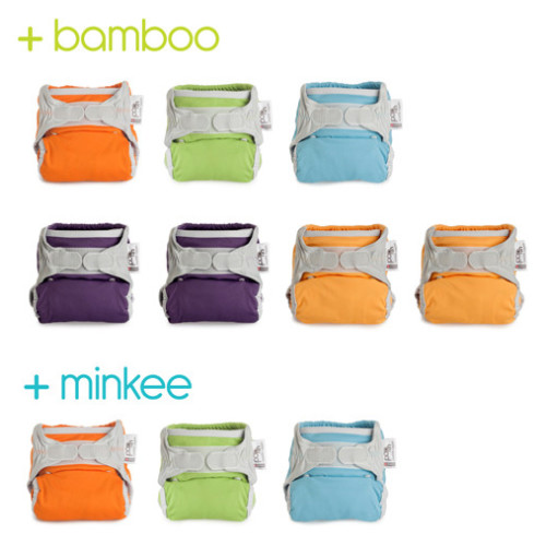 Middle Box Mixed: Bamboo & Minkee - Brights (10) Image