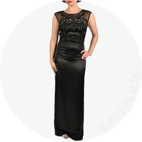 Midnight Cocktail Black Tie Gown Image