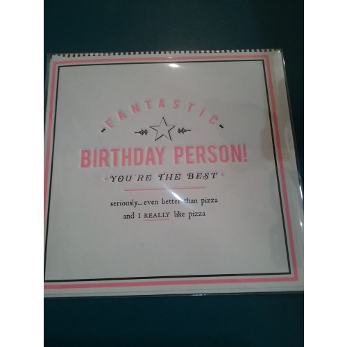 Fantastic birthday person. Card Image