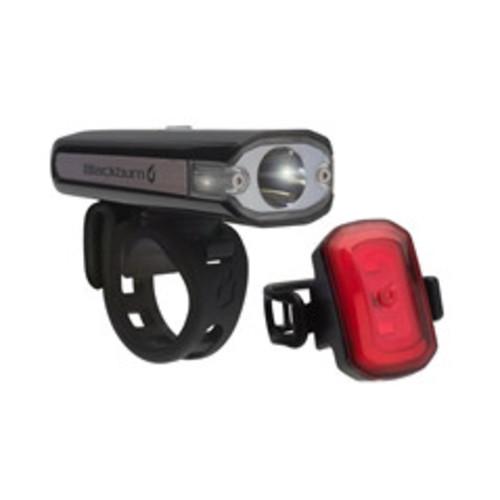 BLACKBURN CENTRAL 200 FRONT + CLICK USB REAR LIGHT SET Image