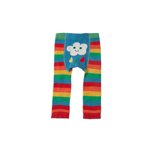 Little Knitted Leggings - Happy Rainbow Image