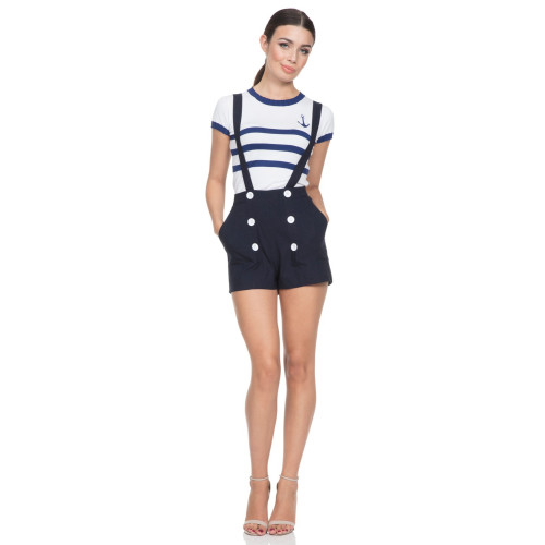 Daisy Nautical Shorts Image