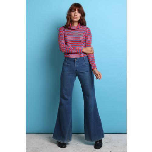 70s Vintage Flared Jeans Image