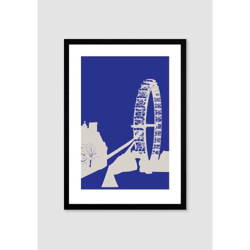 London Eye A4 Print Image