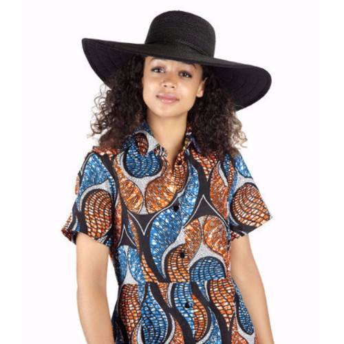 Raffia Plaited Crochet Hat Image