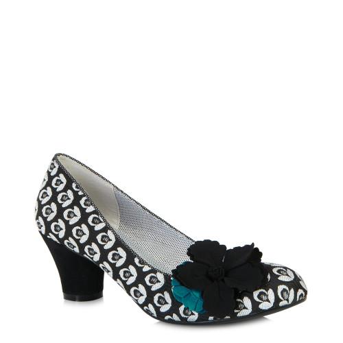 Samira Shoes Black Turquoise / 3-36 Image