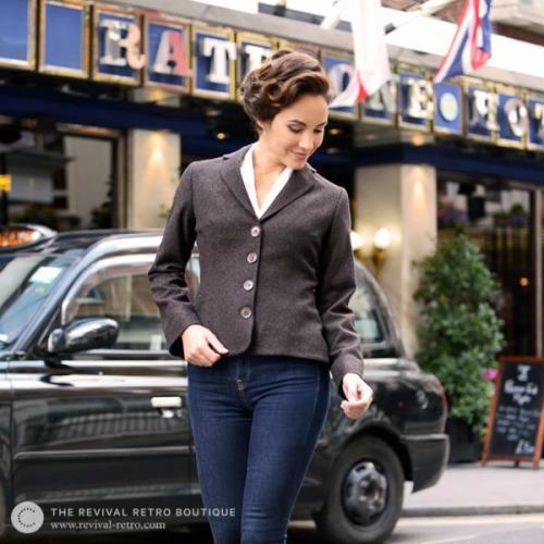 Curve Flattering Women's Jacket Image
