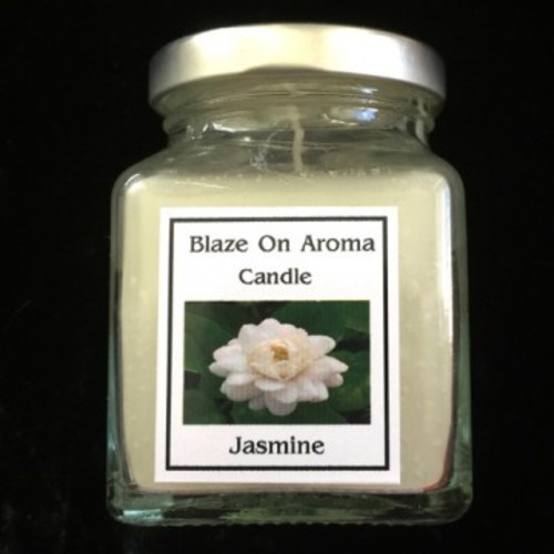 Scented Jar Candle - Jasmine Image