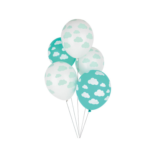 Pack of 5 balloons - cloud Image