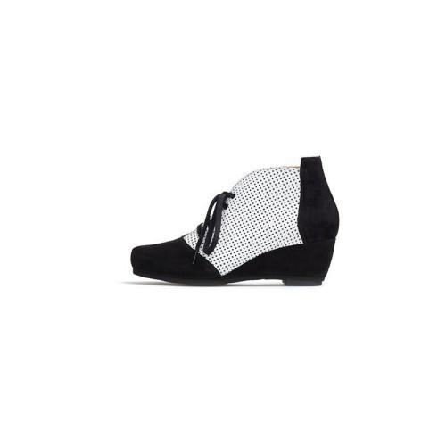 Patu Nevada Nero Bianco Shoe Image