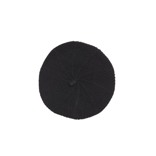 Black Cashmere Beret by Lowie Image