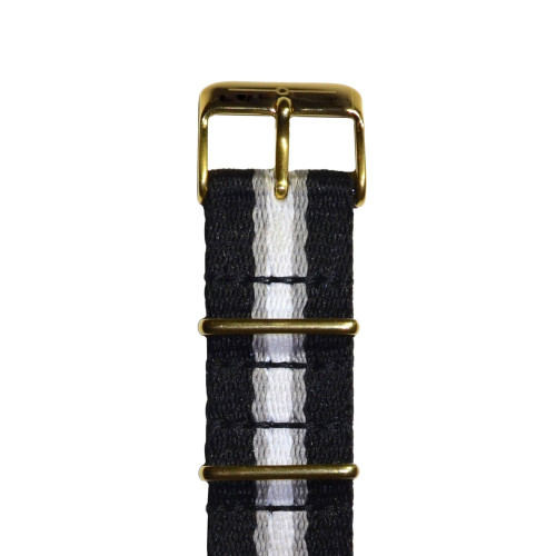 Grey Stripe and Gold NATO Image