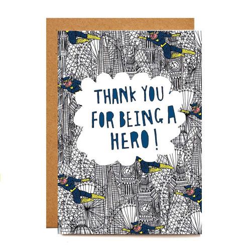 Card: Elsa Hingley Knight Thanks You Hero Image
