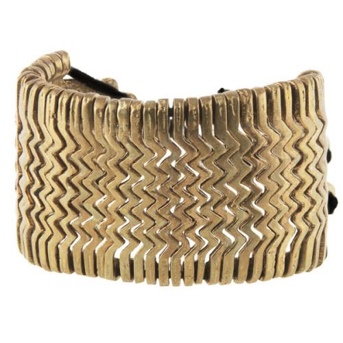 Aztec Brass Bracelet Image