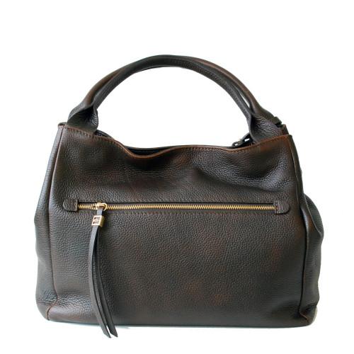 Meduim Dark Brown Shoulder  Bag Image