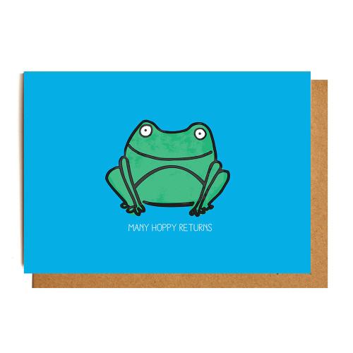 Card: Jude de Berker Hoppy Birthday Image