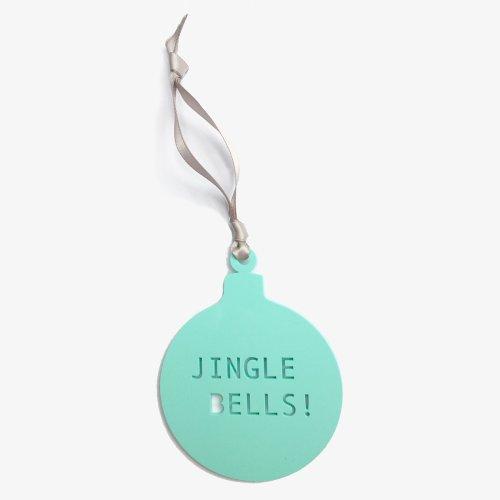 Acrylic Bauble - Jingle Bells Image