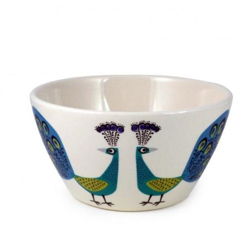 Hannah Turner Cereal Bowl Peacock Image
