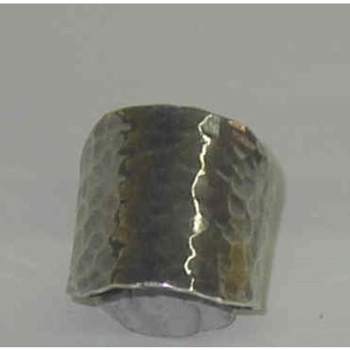 Premium Hammered Ring Image