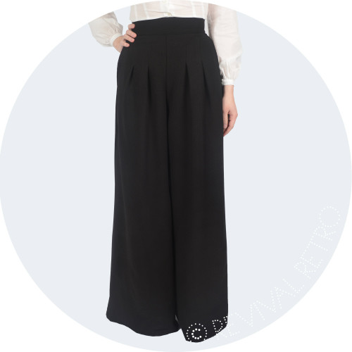 Old Hollywood Style 1940s Trousers Image
