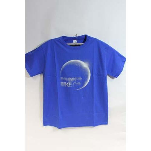 PROPER MOON T SHIRT IN ROYAL BLUE SMALL Image