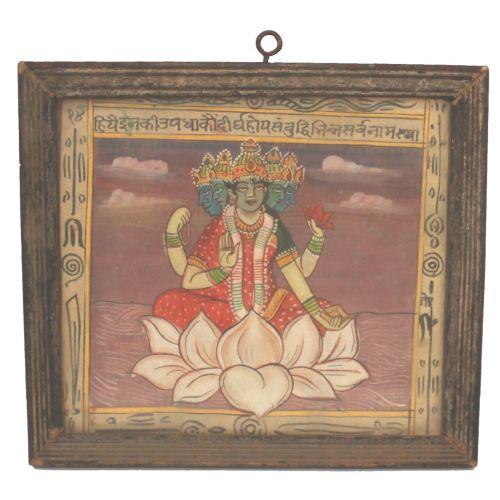 Lakshmi in Vintage Frame Image