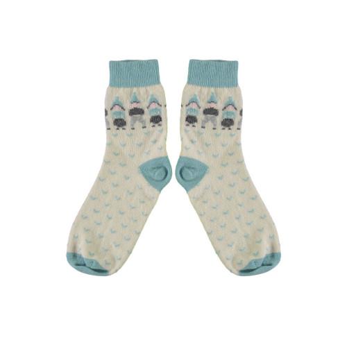 Cashmere Folk People Socks by Lowie Image
