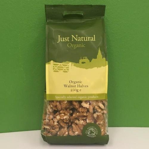 Organic Walnut Halves - Just Natural - 250 g Image