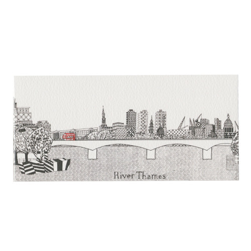 Scenic Card-Little Red Bus Image