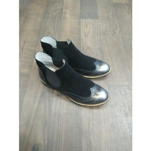Silver Chelsea Boots Metallic / 3-36 Image