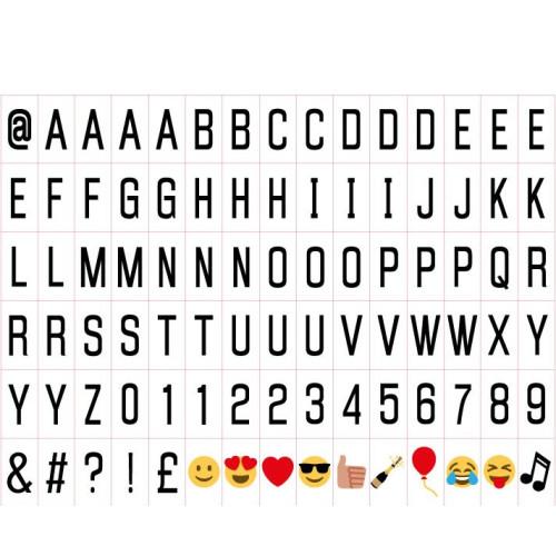 A6 Letter & Emoji Pack Image