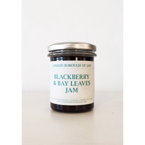 Blackberry & Bay Leaves by London Borough of Jam Image