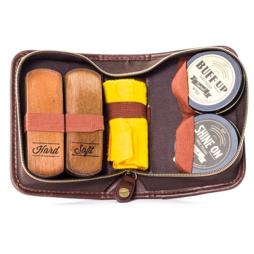 Gentlemen's Hardware Shoe Shine Kit Image