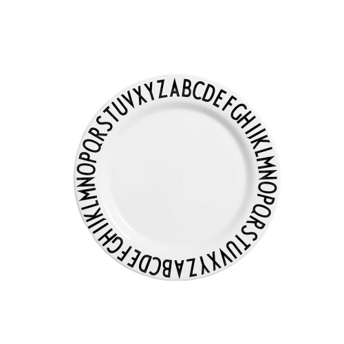Design Letters Melamine Small Plate Image