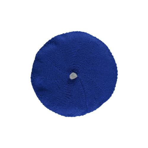Cashmere Blend Beret by Lowie - Cobalt Image