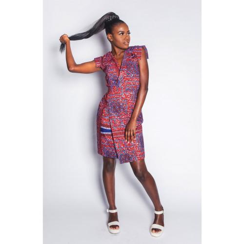 Fajikunda - Wrap Dress - Women's Image