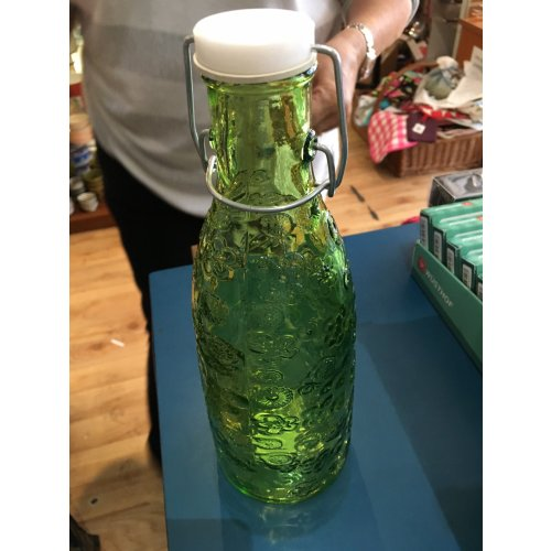 Flora Green Bottle with stopper-0.95L Image
