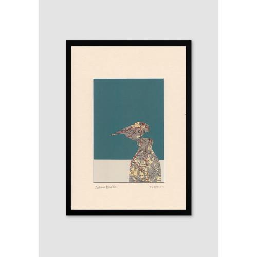 'Balham Blue Tit' Print by Kate Thornton Image
