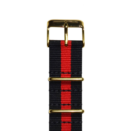 Red and Black Gold NATO Image