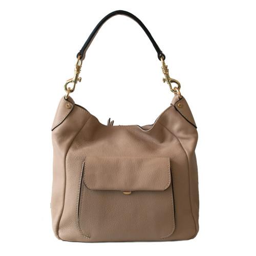 Meduim Beige Shoulder Bag Image