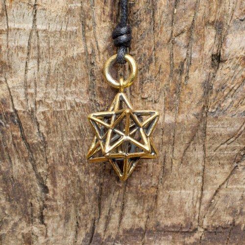 Brass Merkaba Pendant Image