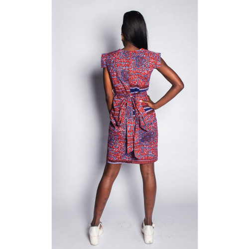 Fajikunda - Wrap Dress - Women's Image