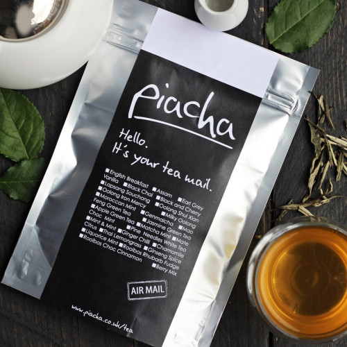 Pine Needles White Tea. Image
