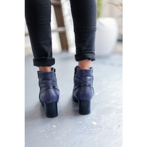 DOLLY BLUE ANKLE BOOTS Image