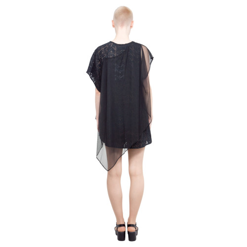 custom lace tunic with tulle Image