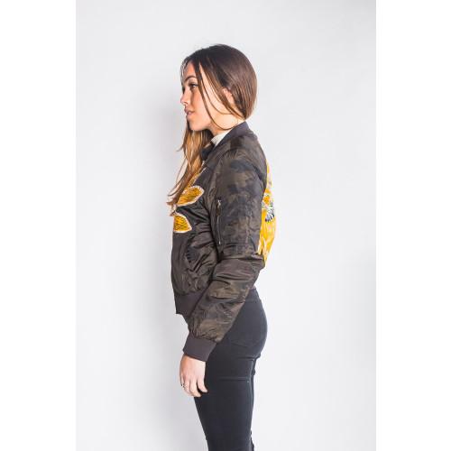 Sankandi - Bomber Jacket Camo - Women's Image