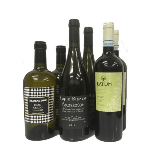 New to Natural Wines - wine club case of 6 white wines Image