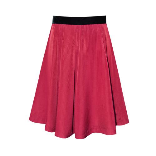 Paris Skirt / Berry Red / 8 Image